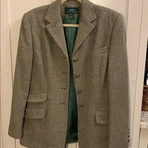 Lauren tweed wool blazer